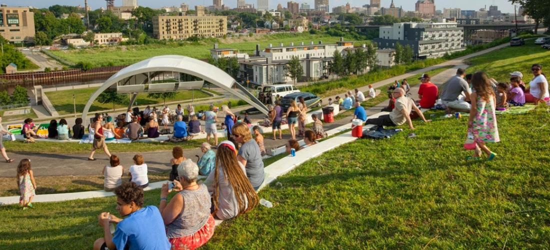 Milwaukee Riverwest Skyline Music Series