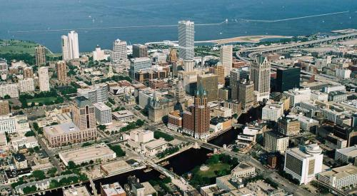 Milwaukee Downtown Aerial